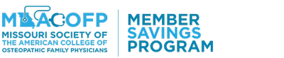 Missouri Society of the American College of Osteopathic Family Physicians Member Savings Program
